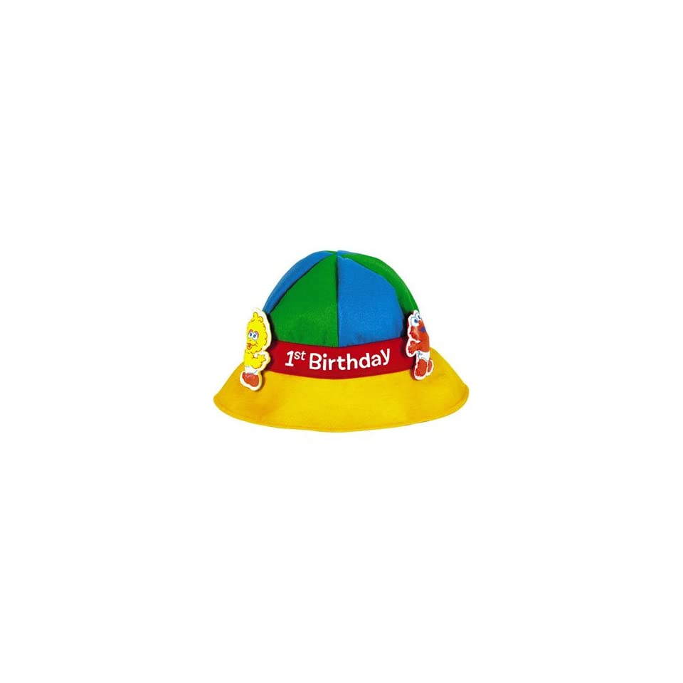 Sesame Street 1st Birthday Felt Party Hat