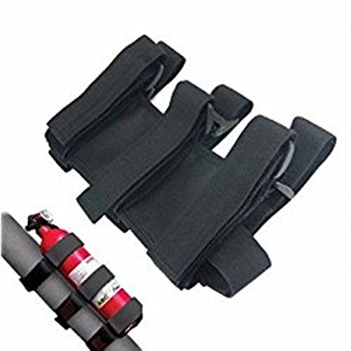 XYZCTEME-Fire-Extinguisher-Holder-ATVUTV-Interior-Roll-Bar-Trim-Kit-Black