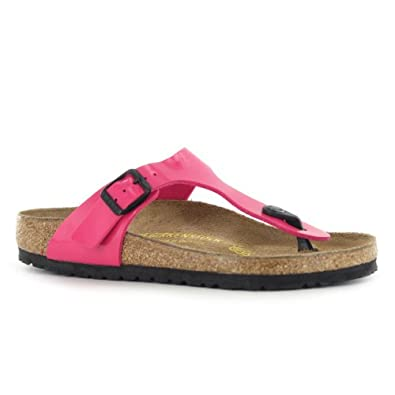 birkenstock gizeh pink womens sandals size 37 eu amazon. Black Bedroom Furniture Sets. Home Design Ideas
