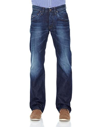 Pepe Jeans London Pantalone Jeanius [Blu Scuro]