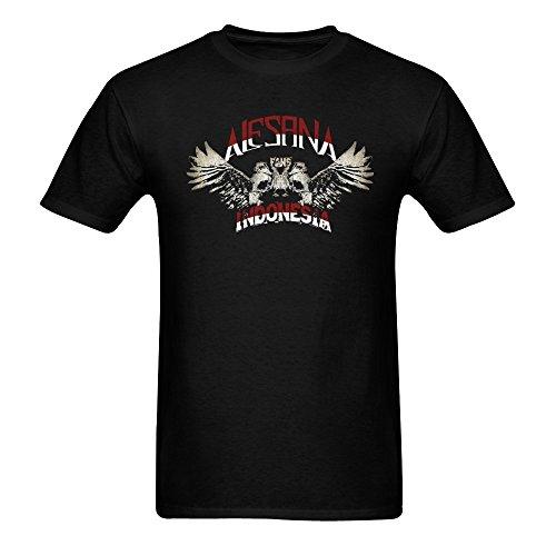 Huang Yu Men's Alesana Logo T Shirts Large