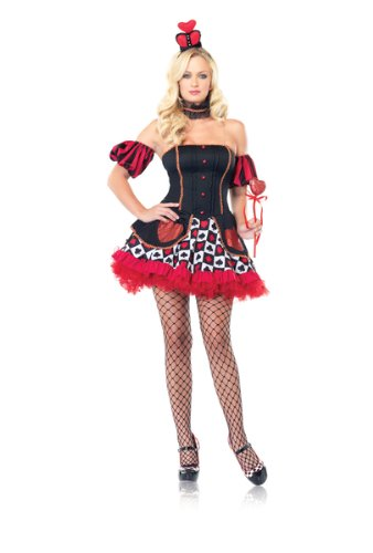 Leg Avenue – Costume Wonderland Queen 4 pieces – 83516