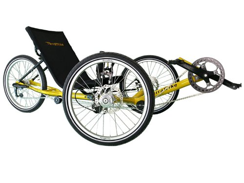 TerraTrike Path 3 Recumbent Trike
