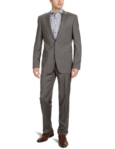 Otto Kern Men's 63226 / 83011 Two-Piece Suit Grey (240Schiefer) 52