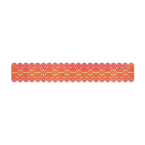 "Sizzix Sizzlits Decorative Strip Die 12.625""X2.375""-Scallop Eyelet Lace"