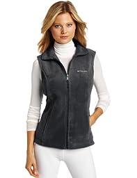 Columbia Women\'s Benton Springs Vest, Charcoal/Heather, Medium