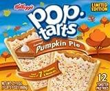 Kelloggs Pop-Tarts - Pumpkin Pie (Limited Edition) - 12 Toaster Pastries, 21.1-oz. Box