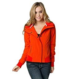 Fox Juniors Elevate Jacket, Orange Flame, Small