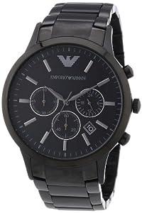Armani Classic Chronograph Stainless Steel - Black Men's watch #AR2453