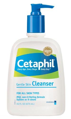 Cetaphil Cetaphil Gentle Skin Cleanser, For all skin types, 16-Ounce Bottles (Pack of 2)