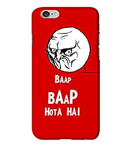 Go Yankee baap baap hota hai back cover for Iphone 6 Plus