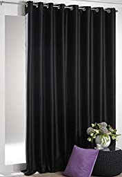 Luxury Homes Premium Quality Thermal Insulated Blackout Curtains With Grommet Ring Top, Wide Width, 104\
