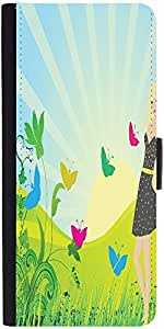 Snoogg Abstract Illustration Designer Protective Phone Flip Case Cover For Samsung Galaxy J2