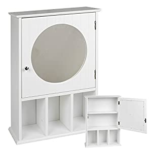 Wall Mounted Bathroom Cabinet White Kitchen