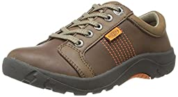 KEEN Austin II Casual Shoe (Little Kid/Big Kid),Dark Earth/Burnt Orange,3 M US Little Kid