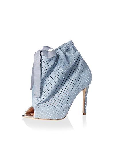 Vivienne Westwood Women's Leather Bootie  [Silver]