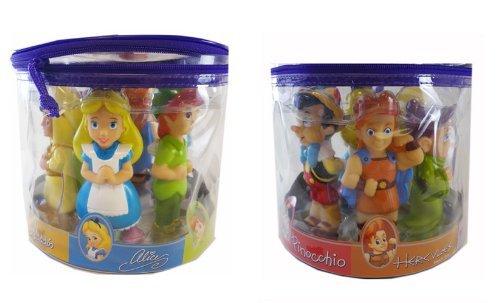 Set Juguetes De Baño Jane:Juguetes de caracteres de Disney Bath – Baño Disney Set Figurine