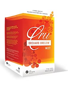 Orchard Breezin Mist Blackberry Merlot Wine Kit