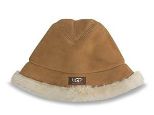 UGG Australia Women's City Fedora Hat,Chestnut