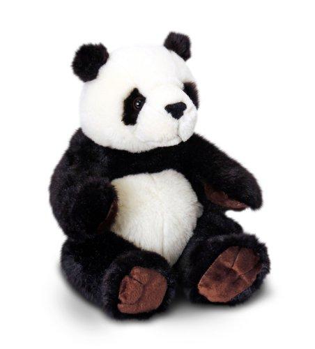 PANDA sitzend 20 cm-Keel Toys- Plüschtier Kuschelkissen