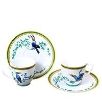 [エルメス]HERMES 000317P トゥカン エルメス食器 コーヒーカップ&ソーサー 2客セット 100ml [並行輸入品]