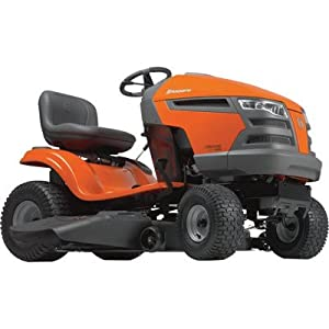 Husqvarna Yard Tractor - 597cc Kohler Engine, 46in. Deck, Not CARB-Approved, Model# TYH21K46 from Husqvarna