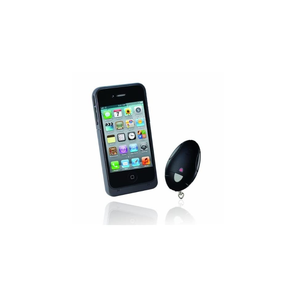 ARDI Tech iPower Reminder 608i   Personal Security & Loss Prevention System for iPhone 4S / iPhone 4 (Retail Packaging   Black)