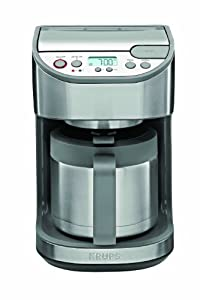 Krups Km1000 Coffee Maker Programmable 10 Cup : Amazon.com: KRUPS KT4065Thermal Programmable Coffeemaker, 10-Cup, Stainless Steel: Krups Coffee ...