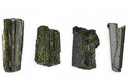 189 Ct Epidote Green 4 Crystals Minas Gerais Brazil