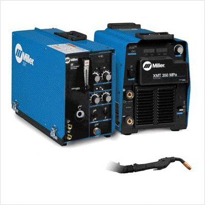 350 Mpa Multi-Process Welder Package 208-575 Volt 3 Phase 60 Hertz With Auto Line, Xr-Control And Xr-Aluma-Pro Gun With 25' Leads