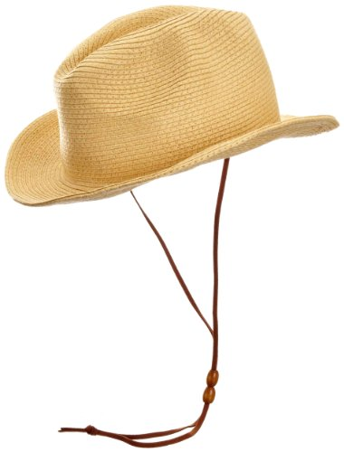 Echo Solid Straw Fedora Women's Hat