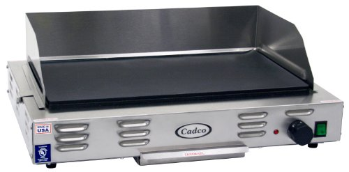 Cadco CG-20 Countertop 220-Volt Electric Griddle Home Garden Kitchen ...