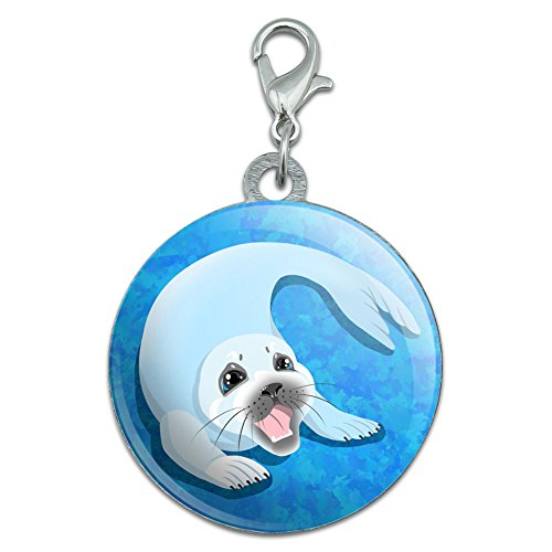 baby-harp-seal-stainless-steel-pet-dog-id-tag