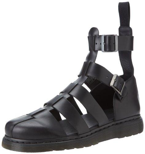 Dr. Martens GERALDO Brando BLACK, Scarpe con cinturino alla caviglia, Nero, 40