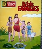 img - for Bible Families Stick on Coloring Book book / textbook / text book