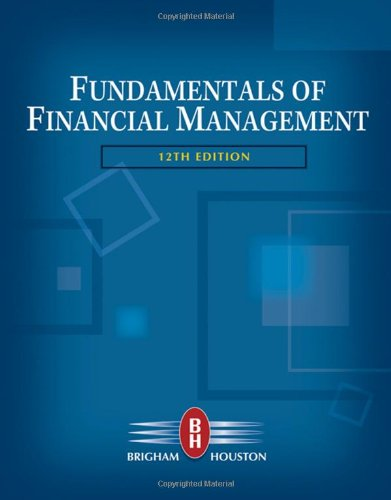 image of Fundamentals of Financial Management (with Thomson ONE - Business School Edition) (Available Titles CengageNOW)