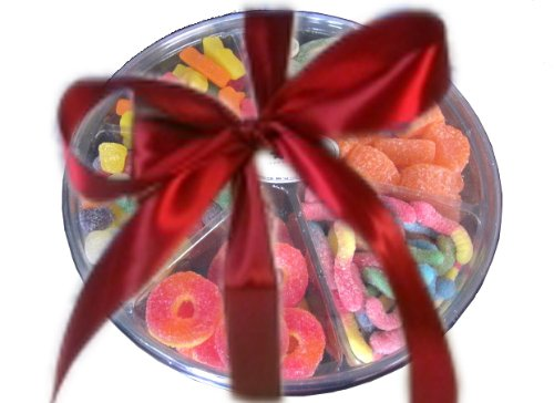 Gummy Candy Gift Tray, (Net Weight: 2 lb), Holiday