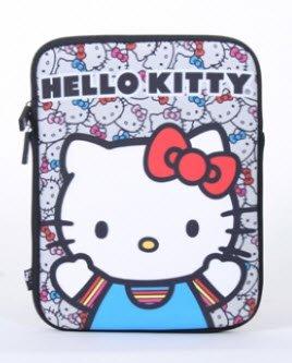 etui-ipad-nouveaute-sanrio-hello-kitty-tete-de-chat-avec-noeud-licence-sanip0018-manches-colores
