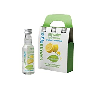 SodaStream MyWater Lemon-Lime Syrup, 40mL, 3-Pack