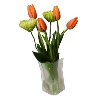 Wondervase Travel Collapsible Flower Vase Med Amazon
