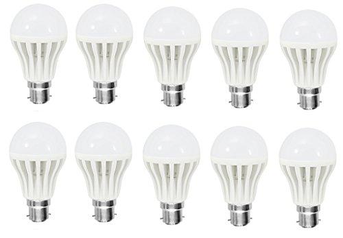Home Pro 9 Watt B22 LED Bulb (Pack Of 10)