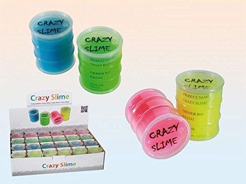 Crazy Slime - Fango viscoso, Colori assortiti, 1 pezzo