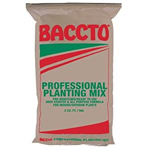Amazon.com - 1732 Baccto Profesional planta de mezcla, 2 pies cúbicos