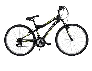 Huffy Bicycle Company Mens 26344 Tundra Bike, Matte Black, 26-Inch by Huffy