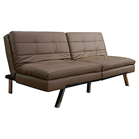 Gold Sparrow Memphis Taupe Double Cushion Futon Sofa Bed