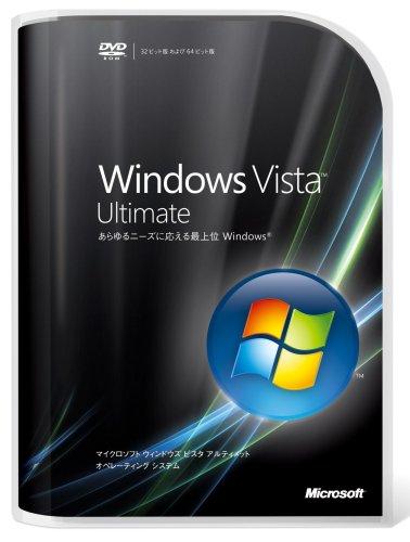 Microsoft Windows Vista Ultimate 通常版