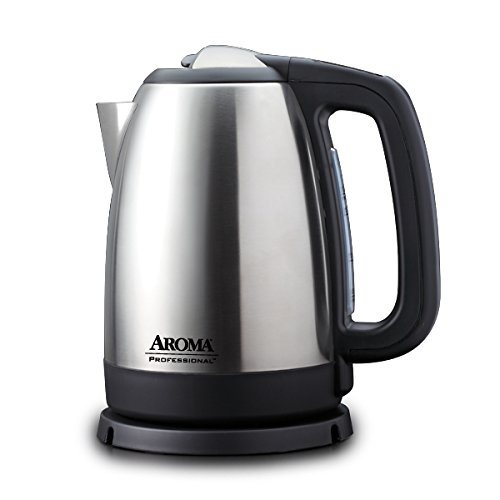 Aroma Housewares AWK-299SD Digital Electric Kettle, 1.7 L, Silver (Electric Kettle Digital compare prices)