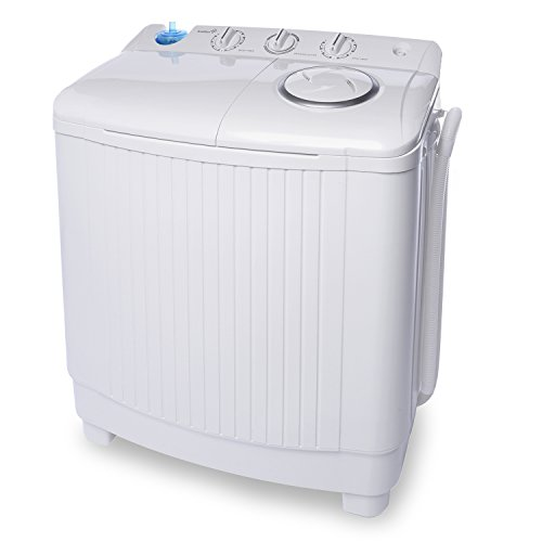 Awardwiki ivation small compact portable washing machine twin tub washer dry with 15 lb - Washing machines for small spaces photos ...