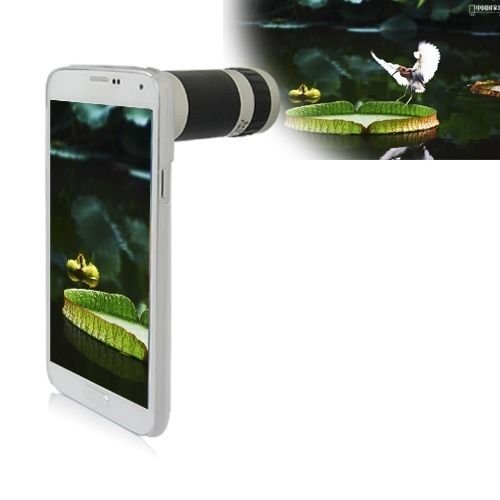 8X Zoom Phone Camera Lens Optical Telescope Case For Samsung Galaxy S5 S V I9600