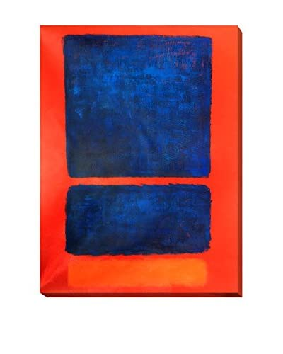 """Mark Rothko """"Blue, Orange, Red, 1961"""" Gallery-Wrapped Oil Reproduction"""